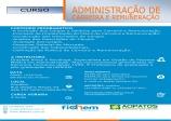 19 DE MAIO - CURSO: ADMINISTRAÇÃO DE CARREIRA E REMUNERAÇÃO