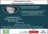 20 DE AGOSTO  ACONTECEU O  ENCONTRO COM ALEXANDRE MACEDO